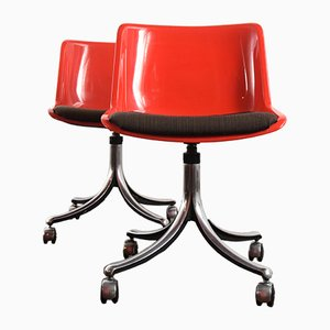 Modus Swivel Chair by Tecno Centro Progetto for Tecno, 1970s