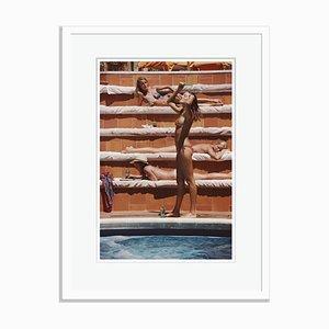 Slim Aarons, Catherine Wilke Oversize C Print Framed in White