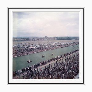 Slim Aarons, Chantilly Racecourse Oversize C Print Framed in Black