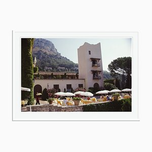 Slim Aarons, Chateau Saint-Martin Oversize C Print Framed in White