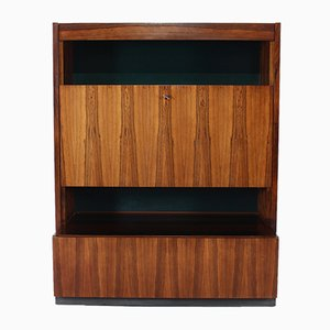 Illuminated Rosewood Vario 999 Bar Cabinet by Oswald Vermaercke for V Form, 1960s