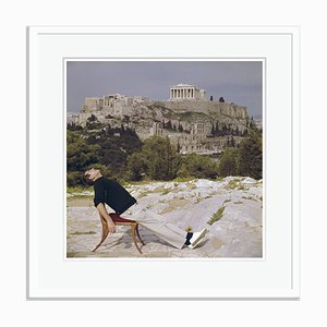 Slim Aarons, Civilised Snooze Oversize C Print Framed in White