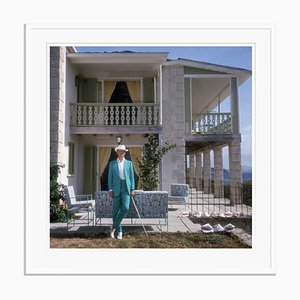 Slim Aarons, Colin Tennant Oversize C Print Framed in White