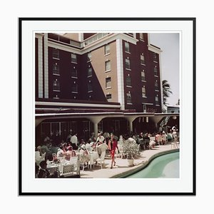 Slim Aarons, Colony Hotel Oversize C Print Framed in Black