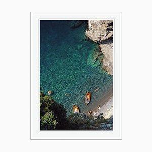 Slim Aarons, Conca Dei Marini Oversize C Print Framed in White