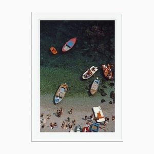 Slim Aarons, Conca Dei Marini Bay Oversize C Print Framed in White