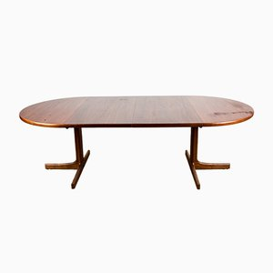 Swedish Teak Dining Table by Karl-Erik Ekselius for JOC Vetlanda, 1960s