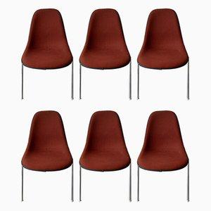 Chaises de Salle à Manger DSS de Bureau Empilables Vintage Herman Miller pour Eames, Set de 6