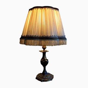 Lampe de Bureau Antique en Bronze