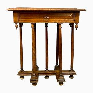 Zeremonieller Walnuss Mazarin Schreibtisch, 1850er