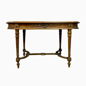 Louis XVI Inlaid Walnut Desk, 1850s