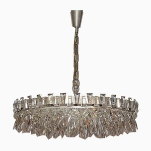 Spike Stone Chandelier from Bakalowits & Söhne, 1960s