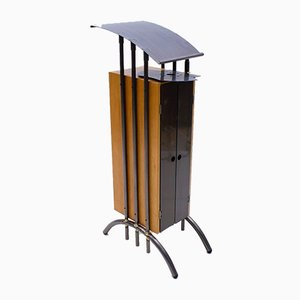 Lectern With Beverage Tray and Storage Compartment, 1980s