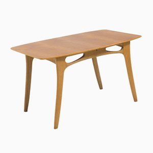 Vintage Teak and Oak Extendable Dining Table