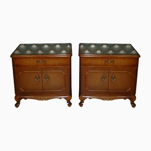 Mid-Century Chippendale Style Nightstand