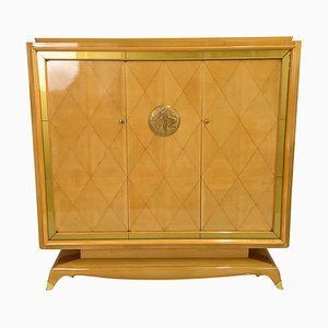 Vintage Art Deco French Cabinet by Jean Desnos