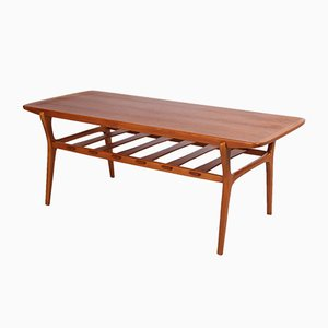 Vintage Teak Scandinavian Coffee Table