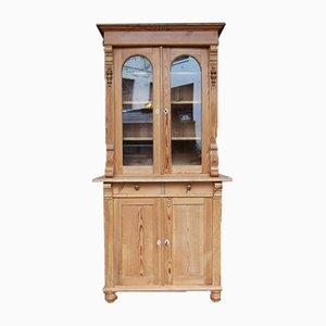 Gabinete de cocina de madera blanda