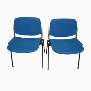 Stacking Chairs by Giancarlo Piretti for Castelli / Anonima Castelli, 1996, Set of 2