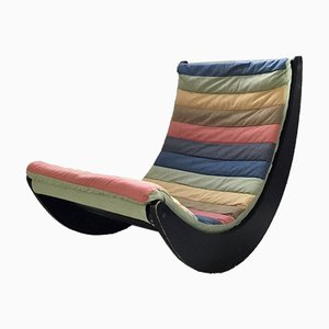Vintage Rocking Chair by Verner Panton for Rosenthal