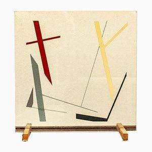 Kinu Gianfranco Pardi per Arflex, Serigrafia a sei colori, Italia, 1982