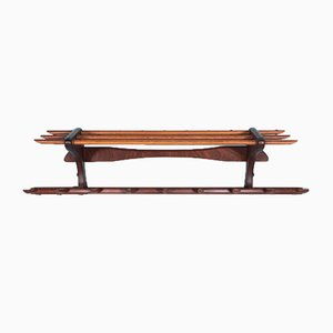 Teak & Beech Coat Rack from Electrimeufa Wassenaar, 1950s