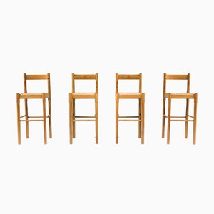 Carimate Bar Stools by Vico Magistretti for Cassina, 1962, Set of 3