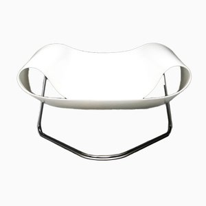 Ribbon Lounge Chair by Franca stagi for Bernini, 1961