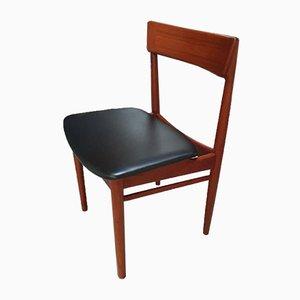 Set da pranzo con tavolo e sedie di Henry Rosengren Hansen, anni '60, set di 5