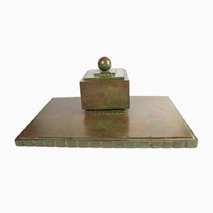 Bronze Schreibständer von Sune Bäckström, 1930er