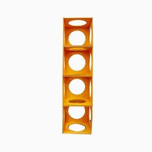 Mensole modulari, anni '60, Italia Set di 4