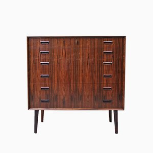 Large Danish Rosewood Chest of Drawers, 1964