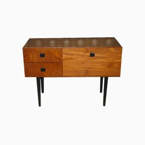 Mid-Century Console Table with 2 Drawers, 1960s