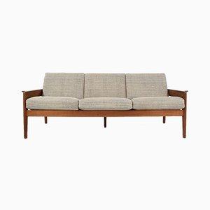 Three-Seater Teak Sofa by Arne Wahl Iversen for Komfort