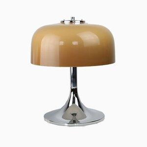Lampe de Bureau Medusa Mushroom Mid-Century Space Age par Luigi Massoni pour Guzzini