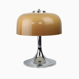 Mid-Century Space Age Medusa Mushroom Table Lamp by Luigi Massoni for Guzzini