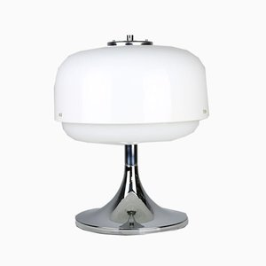 Mid-Century Space Age Medusa Mushroom Tischlampe von Luigi Massoni für Guzzini