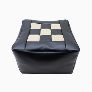 Space Age Chess Board Seat Cushion, 1970s