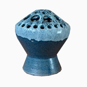 Pique-nique Fleurs en Céramique de Accolay, 1960s