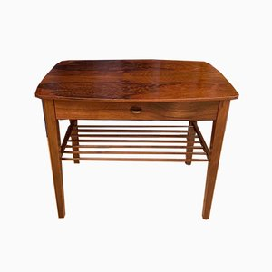 Rosewood Bedside Table, 1950s, Denmark