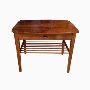 Rosewood Bedside Table, 1950s, Denmark