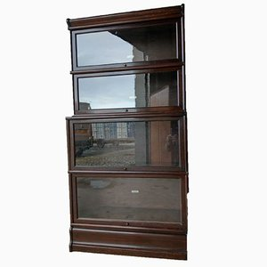 Vintage Barristers 4-Stacking Library Bookcase from Globe Wernicke