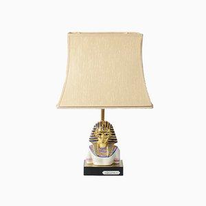Porzellan Pharaoh Lampe von Edoardo Tasca, 1970er