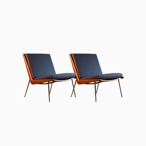 Boomerang Chairs by Peter Hvidt & Orla Molgaard-Nielsen for France & Son, 1950s, Set of 2