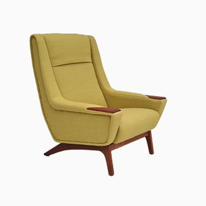 Danish High Back Armchair, 1970s