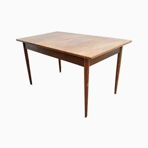 Mid-Century Scandinavian Teak Dining Table