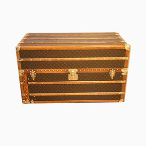 Large Wardrobe Steamer Trunk by Louis Vuitton