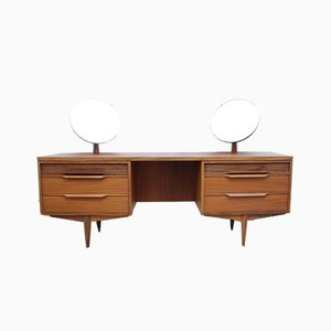 Toeletta moderna in teak di White and Newton, anni '60