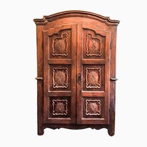 Piemontese Cabinet with Two Doors, XVIII Century
