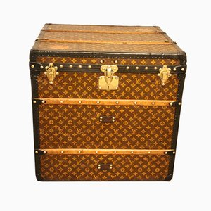 Steamer Cube Trunk by Louis Vuitton
